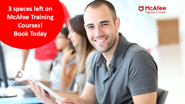 Worldwide McAfee Training Courses